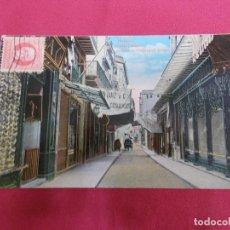Postales: ANTIGUA POSTAL. CUBA. HABANA. CALLE OBISPO. OBISPO OR PIMARGALL STREET. CIRCULADA.. Lote 73705423