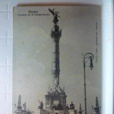 Postales: POSTAL COLUMNA DE LA INDEPENDENCIA (MEXICO). ED. LATAPI&BERT. SIN ESCRIBIR.. Lote 75092631