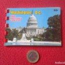 Postales: PEQUEÑO BLOC LIBRITO DE 10 FOTOS PHOTOS WASHINGTON D.C. THE NATION'S CAPITAL USA ESTADOS UNIDOS. VER. Lote 75863295