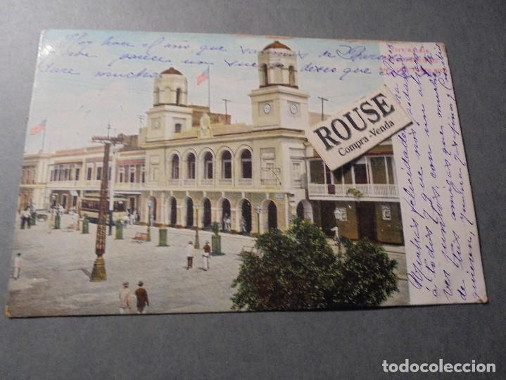 PUERTO RICO - CITY HALL PALZA PRINCIPAL , SAN JUAN PUERTO RICO 3628 CIRCULADA - 14X9 CM. (Postales - Postales Extranjero - América)