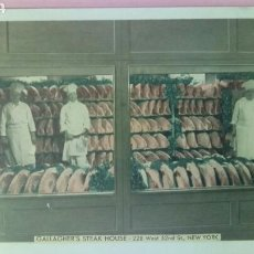 Postales: GALLAGHER'S STEAC HOUSE NEW YORK 228 WEST 52ND ST CARNICERÍA CARNE . Lote 79144915