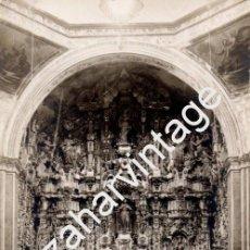 Postales: POSTAL FOTOGRAFICA, ALTAR MAYOR IGLESIA DE TEPOTZOLAN, MEXICO, MAGNIFICA. Lote 81885276