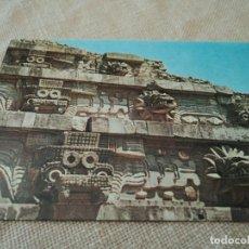 Postales: TABLEROS DEL TEMPLO DE QUETZALCOATL MEXICO 15 X 10 CM. Lote 83496820