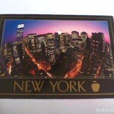 Postales: TARJETA POSTAL NEW YORK CITY. CITY LIGHTS, ESTADOS UNIDOS USA POST CARD. Lote 84105952
