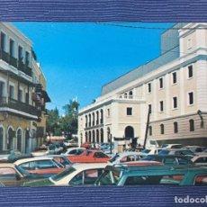 Postales: POSTAL PUERTO RICO, VISTA LATERAL DEL TEATRO TAPIA CONSTRUIDO EN 1832. Lote 84683964