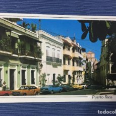 Postales: POSTAL PUERTO RICO, OLD SAN JUAN A TYPICAL STREET IN THE CITY NEARLY. Lote 84684348