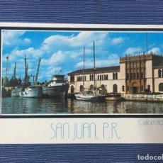 Postales: POSTAL PUERTO RICO, OLD SAN JUAN , CUSTOM HOUSE. Lote 84684472