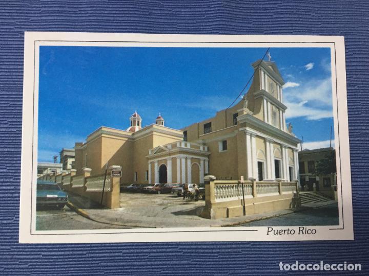 POSTAL PUERTO RICO, SAN JUAN CATHEDRAL (Postales - Postales Extranjero - América)