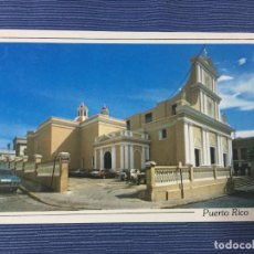 Postales: POSTAL PUERTO RICO, SAN JUAN CATHEDRAL. Lote 84686924