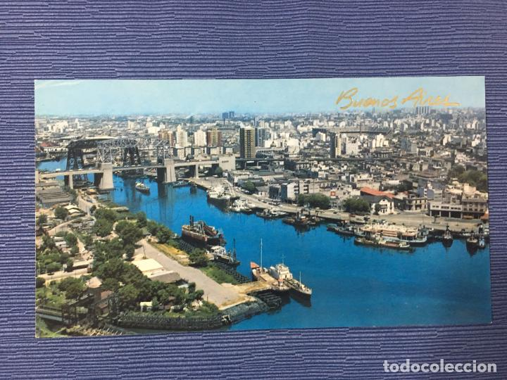 POSTAL BUENOS AIRES, VISTA AÉREA DEL RIACHUELO (Postales - Postales Extranjero - América)