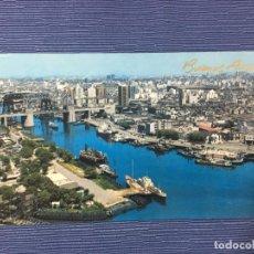 Postales: POSTAL BUENOS AIRES, VISTA AÉREA DEL RIACHUELO. Lote 84766808