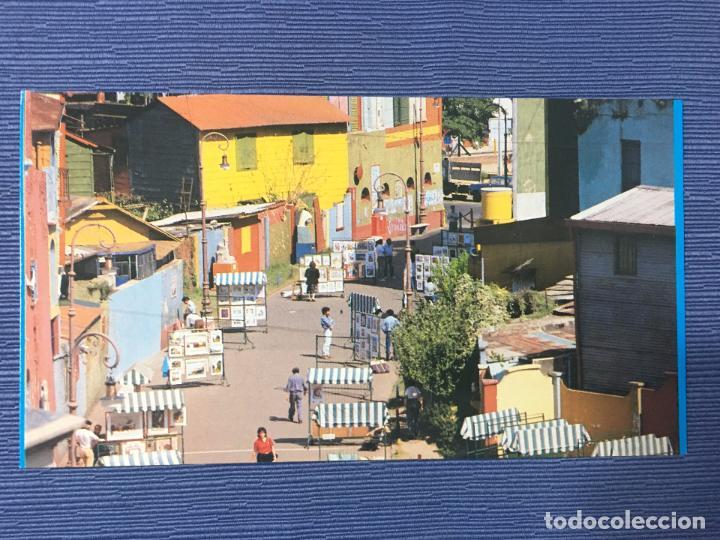 POSTAL BUENOS AIRES, CAMINITO - BARRIO DE LA BOCA (Postales - Postales Extranjero - América)