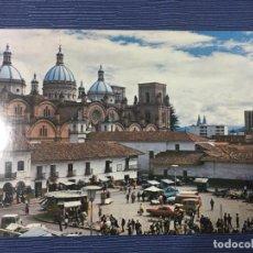Postales: POSTAL ECUADOR, BASÍLICA EN CONSTRUCCIÓN -CUENCA. Lote 84772220