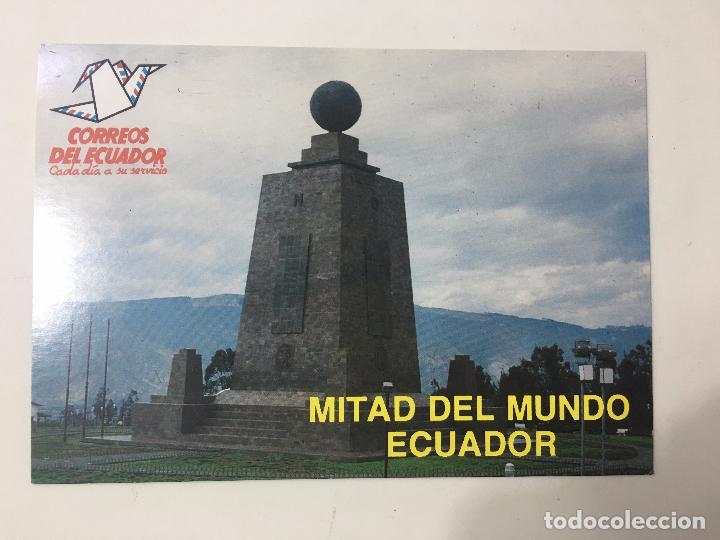 POSTAL ECUADOR - MITAD DEL MUNDO - LATITUD 0º 0'0'' (Postales - Postales Extranjero - América)