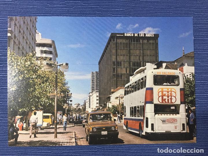 POSTAL ECUADOR, QUITO, LA MODERNA AVD. RIO AMAZONAS (Postales - Postales Extranjero - América)
