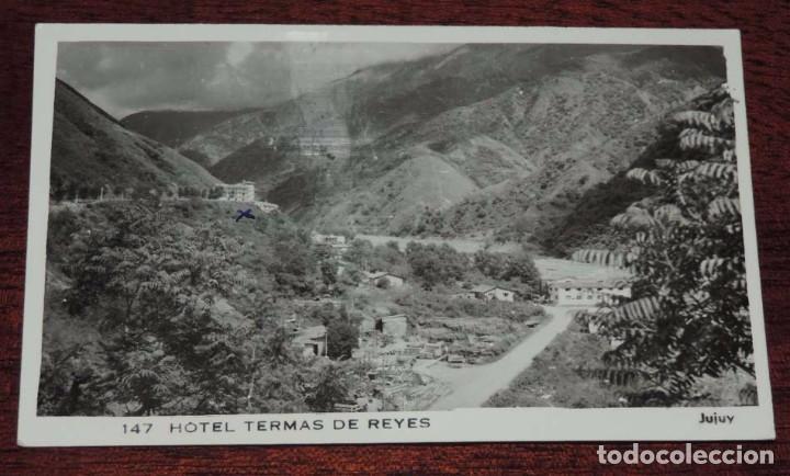 FOTO POSTAL DE ARGENTINA, HOTEL TERMAS DE REYES, SAN SALVADOR DE JUJUY, ESDRITA (Postales - Postales Extranjero - América)