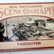 Postales: BLOC CANADÁ VANCOUVER 10 VISTAS SCENEGRAPH. Lote 88223828