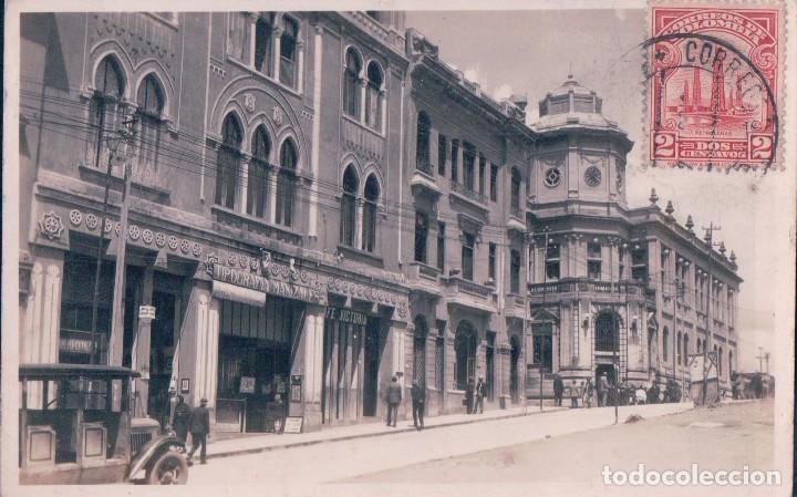 POSTAL COLOMBIA - MANIZALES - FOTOGRAFIA - TIPOGRAFIA MANIZALES, CAFE VICTORIA - AGFA (Postales - Postales Extranjero - América)