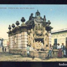 Postales: POSTAL DE MEXICO: FUENTE DEL SALTO DEL AGUA (ED.FM). Lote 89571940