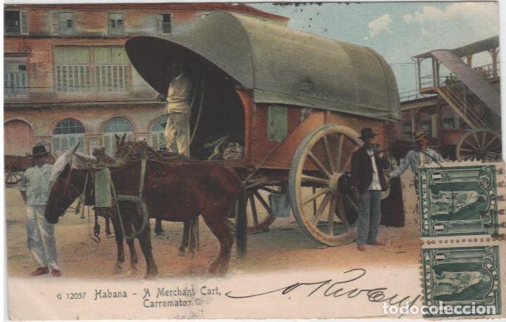CUBA CARROMATO (Postales - Postales Extranjero - América)