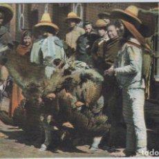 Postales: MÉXICO.VENDEDORES DE POLLO. Lote 91388260