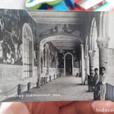 Postales: MEXICO, CUERNAVACA, PALACIO CORTEZ. 1950. Lote 91590210