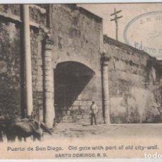 Postales: REPUBLICA DOMINICANA.SANTO DOMINGO. PUERTA DE SAN DIEGO.. Lote 95766155