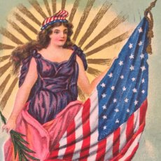 Postales: POSTAL CONMEMORATIVA 1909 MEMORIAL DAY GREETINGS BROOKLYN N.Y.. Lote 93085045