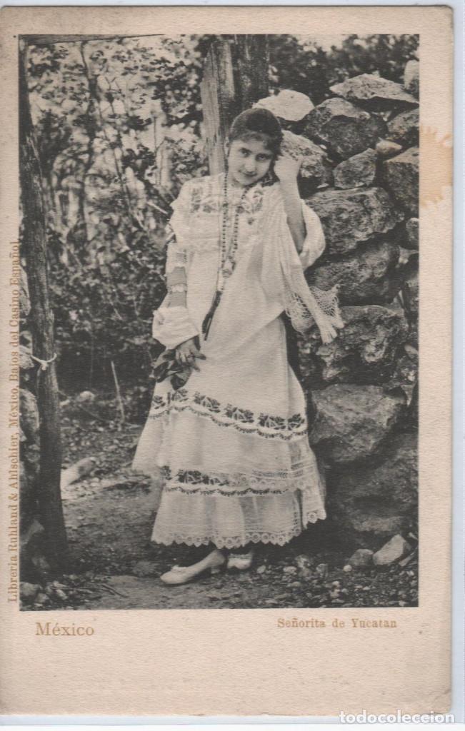 MÉXICO. MÉRIDA SEÑORITA DE YUCATAN (Postales - Postales Extranjero - América)