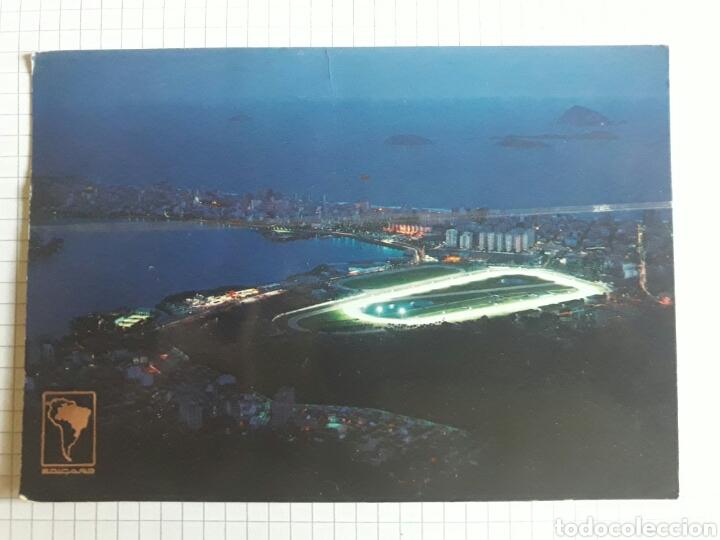 POSTAL BRASIL CIRCULADA 1976 (Postales - Postales Extranjero - América)