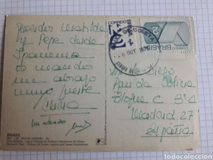 Postales: Postal Brasil circulada 1976 - Foto 2 - 94336870