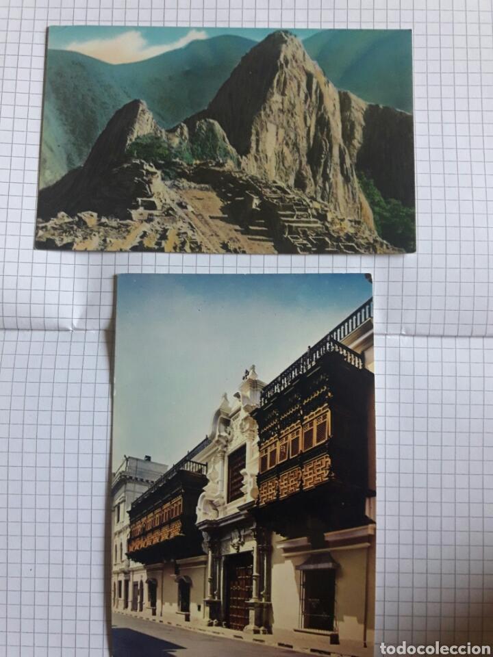 LOTE 2 POSTALES PERÚ SIN CIRCULAR (Postales - Postales Extranjero - América)
