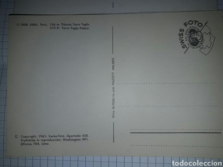 Postales: Lote 2 postales Perú sin circular - Foto 4 - 94337178