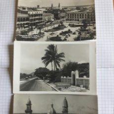 Postales: LOTE 3 ANTIGUAS POSTALES MEXICO. Lote 94337792