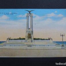 Postales: U.S.S. MAINE - MONIMENTO / LA HABANA - CUBA / CIRCULADA - COMPRE AZUCAR CUBANO. Lote 95426795