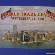 Postales: POSTAL DE ESTADOS UNIDOS. 11 S. WORLD TRADE CENTER. ESCRITA 2001.. Lote 95973379