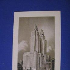 Postales: POSTAL DE ESTADOS UNIDOS. HOTEL THE WALDORF - ASTORIA. SIN CIRCULAR. AÑOS 60.. Lote 95973507