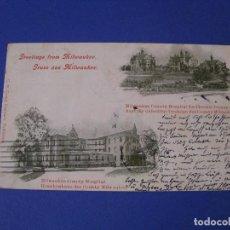 Postales: POSTAL DE ESTADOS UNIDOS. MILWAUKEE. ESCRITA, CIRCULADA. 1902.. Lote 95973543