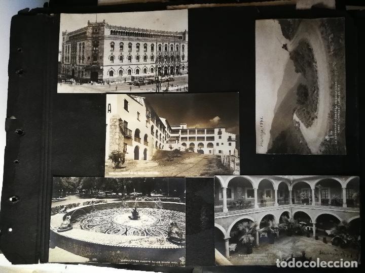 Postales: ANTIGUO Y PRECIOSO ALBUM DE FOTOGRAFIAS Y POSTALES DE MEXICO - AÑOS 40 - FOTOGRAFO POSTA MEX, YAÑEZ, - Foto 2 - 96480351