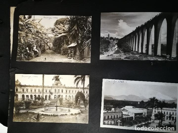 Postales: ANTIGUO Y PRECIOSO ALBUM DE FOTOGRAFIAS Y POSTALES DE MEXICO - AÑOS 40 - FOTOGRAFO POSTA MEX, YAÑEZ, - Foto 3 - 96480351
