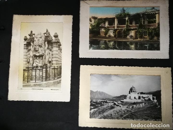 Postales: ANTIGUO Y PRECIOSO ALBUM DE FOTOGRAFIAS Y POSTALES DE MEXICO - AÑOS 40 - FOTOGRAFO POSTA MEX, YAÑEZ, - Foto 4 - 96480351