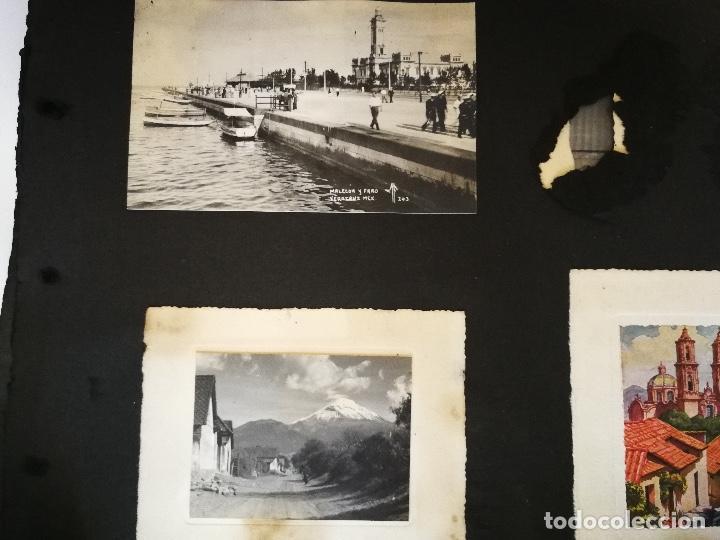 Postales: ANTIGUO Y PRECIOSO ALBUM DE FOTOGRAFIAS Y POSTALES DE MEXICO - AÑOS 40 - FOTOGRAFO POSTA MEX, YAÑEZ, - Foto 5 - 96480351