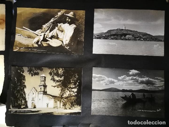 Postales: ANTIGUO Y PRECIOSO ALBUM DE FOTOGRAFIAS Y POSTALES DE MEXICO - AÑOS 40 - FOTOGRAFO POSTA MEX, YAÑEZ, - Foto 9 - 96480351