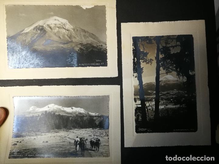 Postales: ANTIGUO Y PRECIOSO ALBUM DE FOTOGRAFIAS Y POSTALES DE MEXICO - AÑOS 40 - FOTOGRAFO POSTA MEX, YAÑEZ, - Foto 13 - 96480351