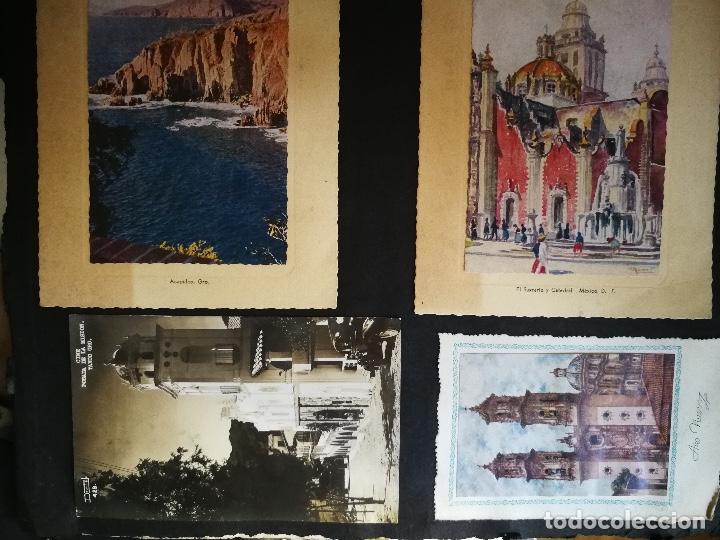 Postales: ANTIGUO Y PRECIOSO ALBUM DE FOTOGRAFIAS Y POSTALES DE MEXICO - AÑOS 40 - FOTOGRAFO POSTA MEX, YAÑEZ, - Foto 16 - 96480351