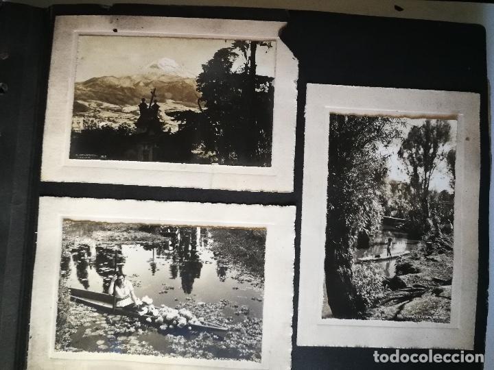 Postales: ANTIGUO Y PRECIOSO ALBUM DE FOTOGRAFIAS Y POSTALES DE MEXICO - AÑOS 40 - FOTOGRAFO POSTA MEX, YAÑEZ, - Foto 17 - 96480351