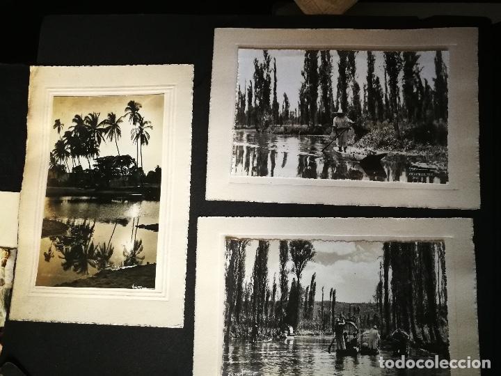 Postales: ANTIGUO Y PRECIOSO ALBUM DE FOTOGRAFIAS Y POSTALES DE MEXICO - AÑOS 40 - FOTOGRAFO POSTA MEX, YAÑEZ, - Foto 18 - 96480351
