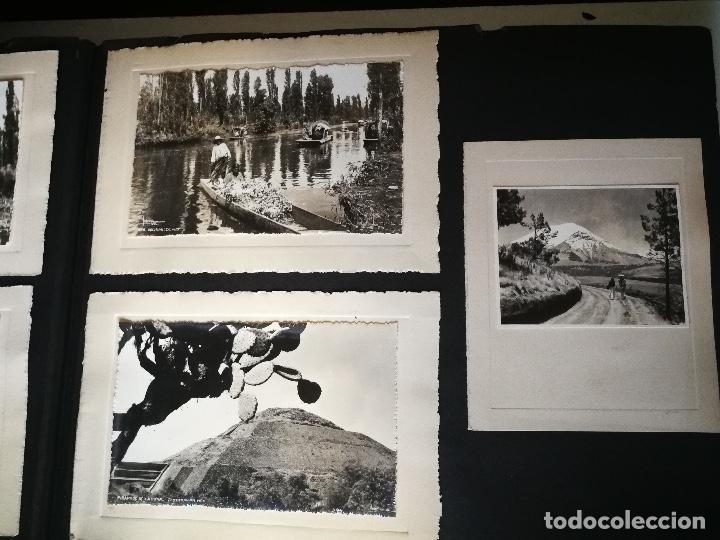 Postales: ANTIGUO Y PRECIOSO ALBUM DE FOTOGRAFIAS Y POSTALES DE MEXICO - AÑOS 40 - FOTOGRAFO POSTA MEX, YAÑEZ, - Foto 19 - 96480351