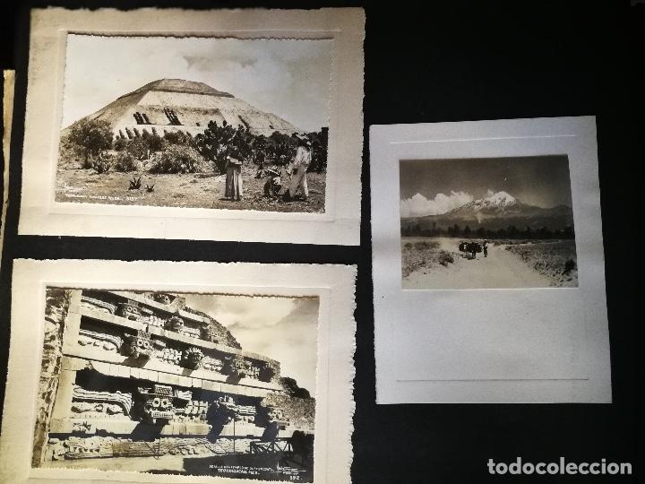 Postales: ANTIGUO Y PRECIOSO ALBUM DE FOTOGRAFIAS Y POSTALES DE MEXICO - AÑOS 40 - FOTOGRAFO POSTA MEX, YAÑEZ, - Foto 21 - 96480351