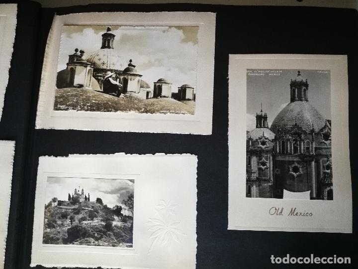 Postales: ANTIGUO Y PRECIOSO ALBUM DE FOTOGRAFIAS Y POSTALES DE MEXICO - AÑOS 40 - FOTOGRAFO POSTA MEX, YAÑEZ, - Foto 22 - 96480351